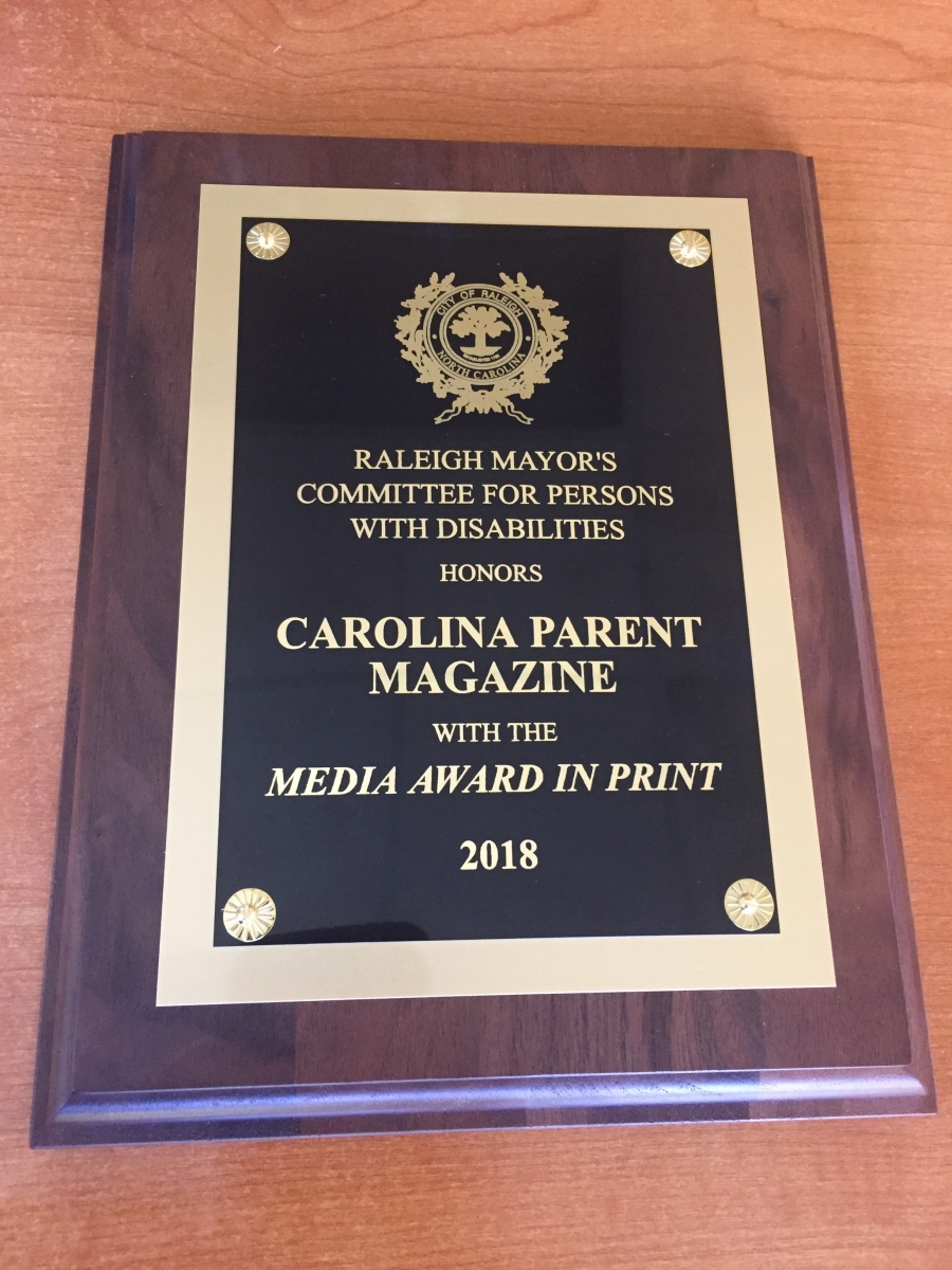 Carolina Parent Plaque