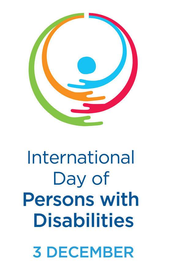 logo of international day of persons with disabilities